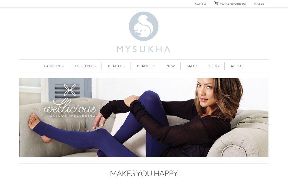 MYSUKHA – einfach nur Wohlfühlen