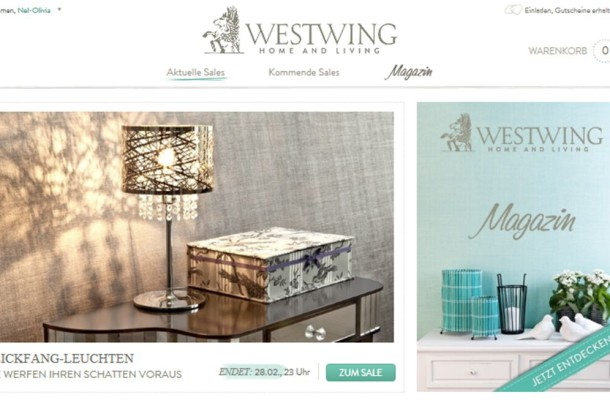 Westwing Website
