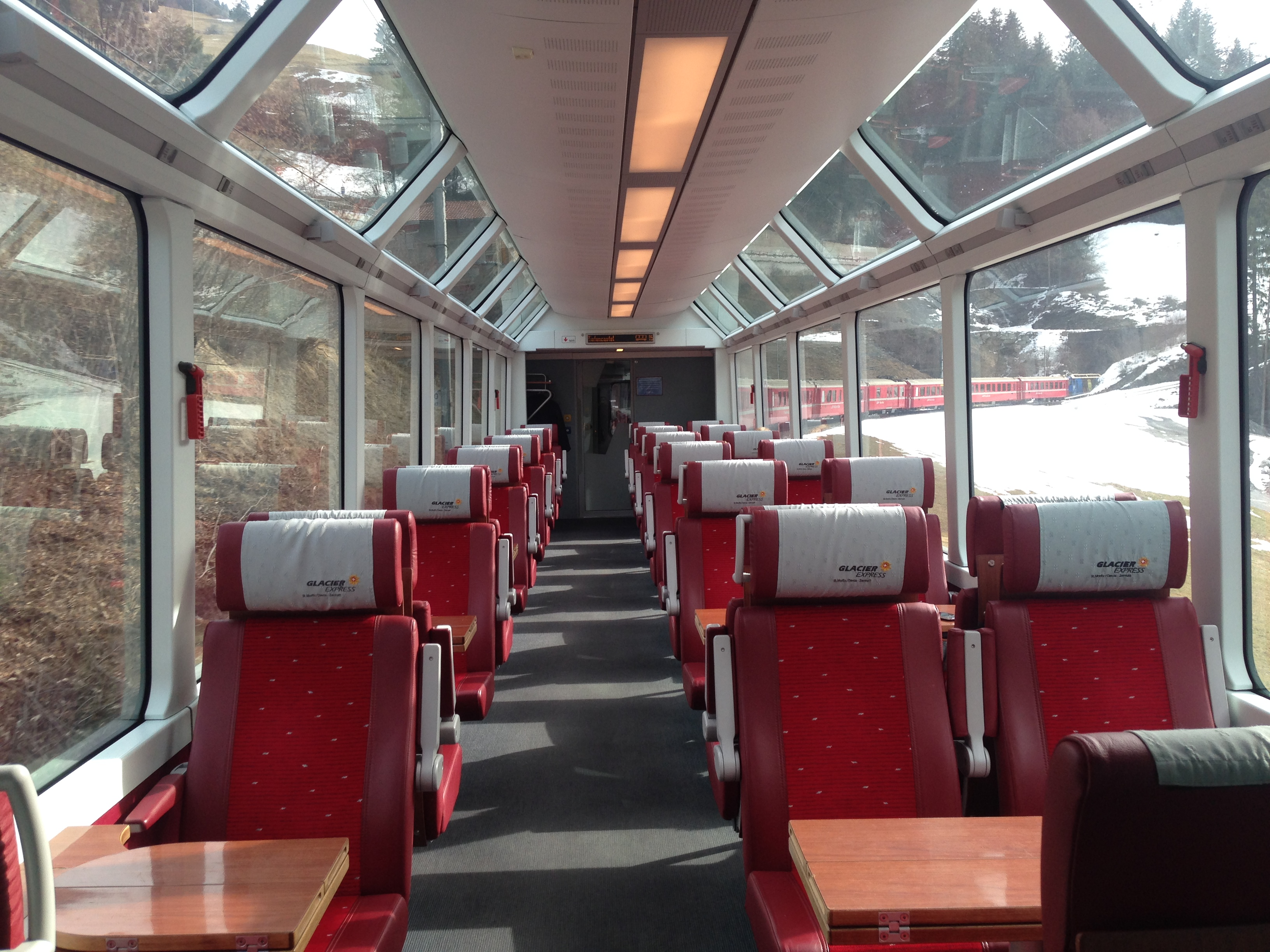 Panorama Wagon SBB St. Moritz