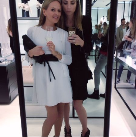 CHANEL Store Spring Tasting Selfie with Gine.ch