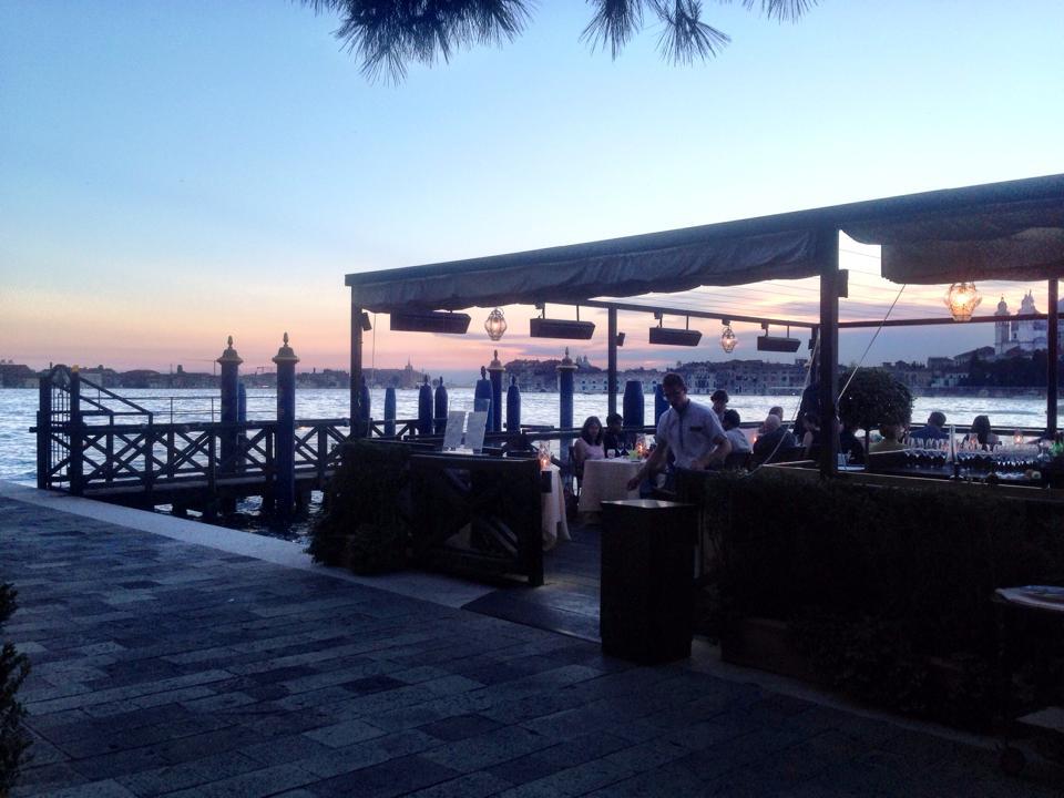 Dinner Hotel Cipriani Venice