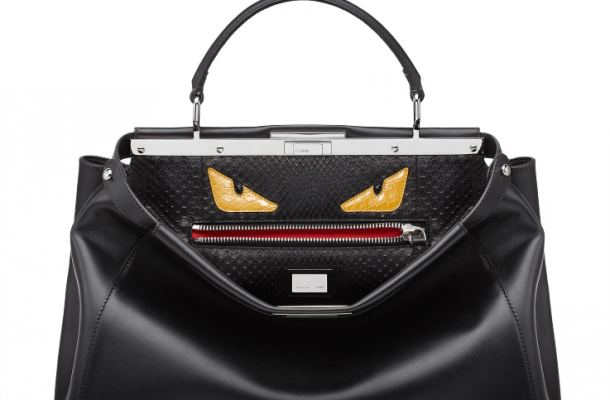 Fendi-Black-Peekaboo-with-Bag-Bug-Interior