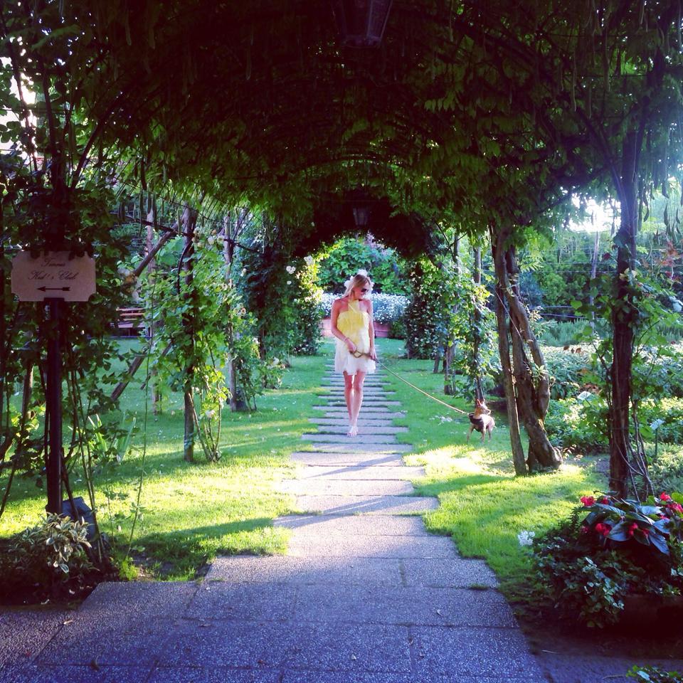 Gardens of Hotel Cipriani Venice