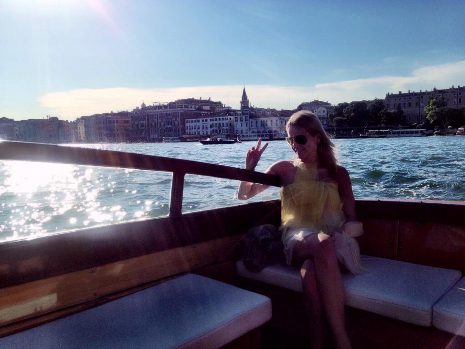 Venice Cipriani Boat