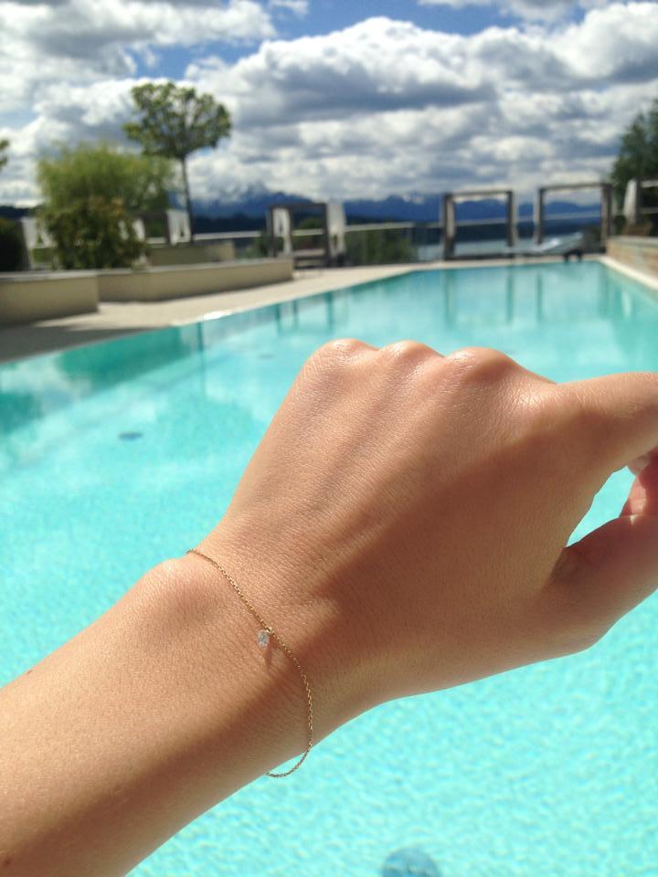 Viva Mayr Pool diamond La Brune & La Blonde