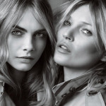MY BURBERRY Cara Delevingne Kate Moss