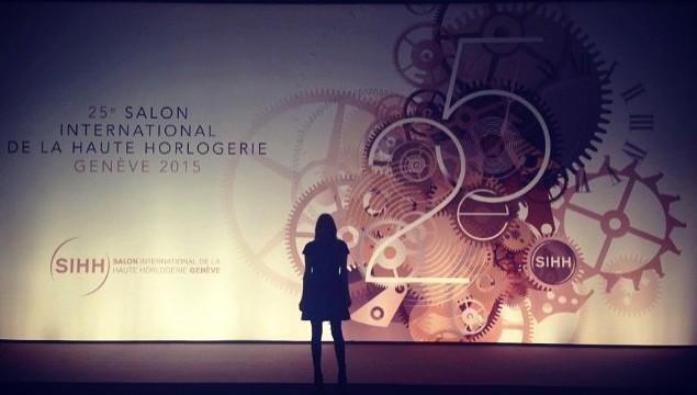 25TH SALON INTERNATIONAL DE LA HAUTE HORLOGERIE