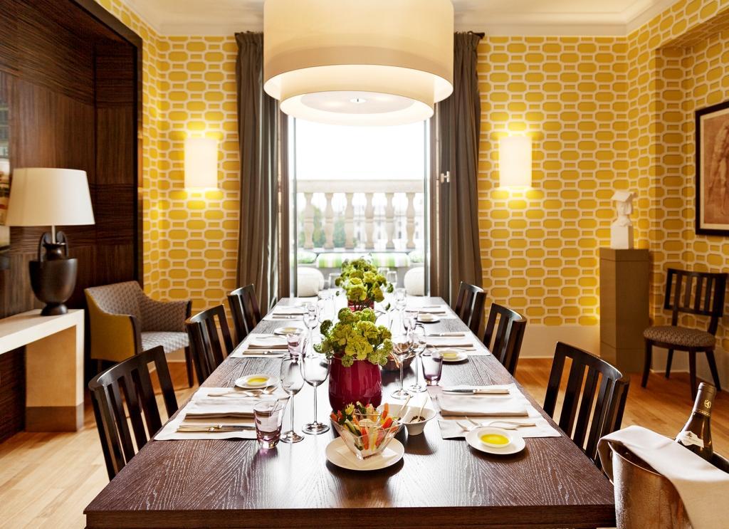 Bebel Suite_Hotel de Rome_Esszimmer