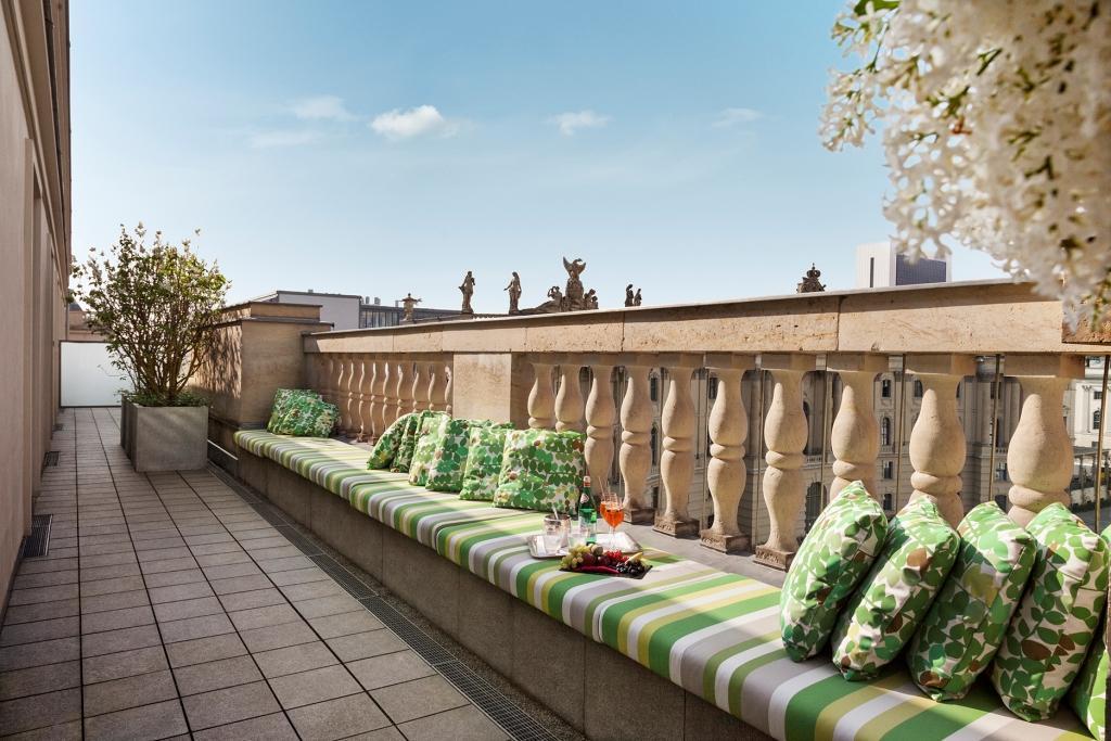 Bebel Suite_Hotel de Rome_Terrasse