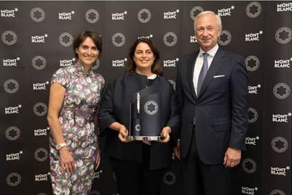 Montblanc de la Culture Patron of Art Award 2015