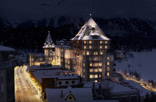Badrutts Palace St. Moritz Switzerland