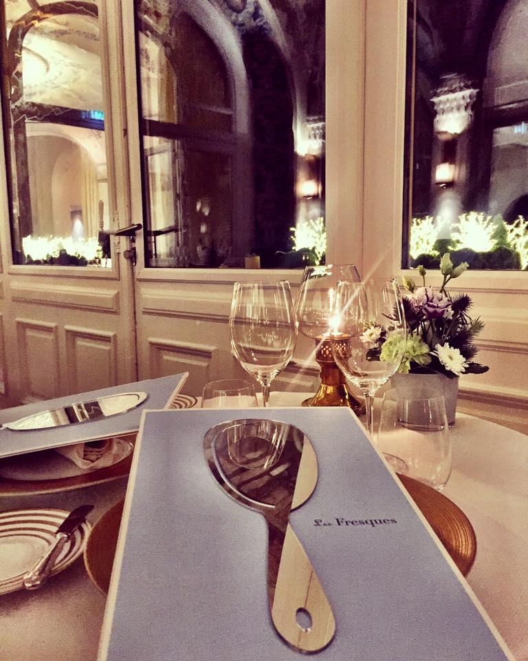 Les Fresques Gourmet Restaurant Evian Resort France