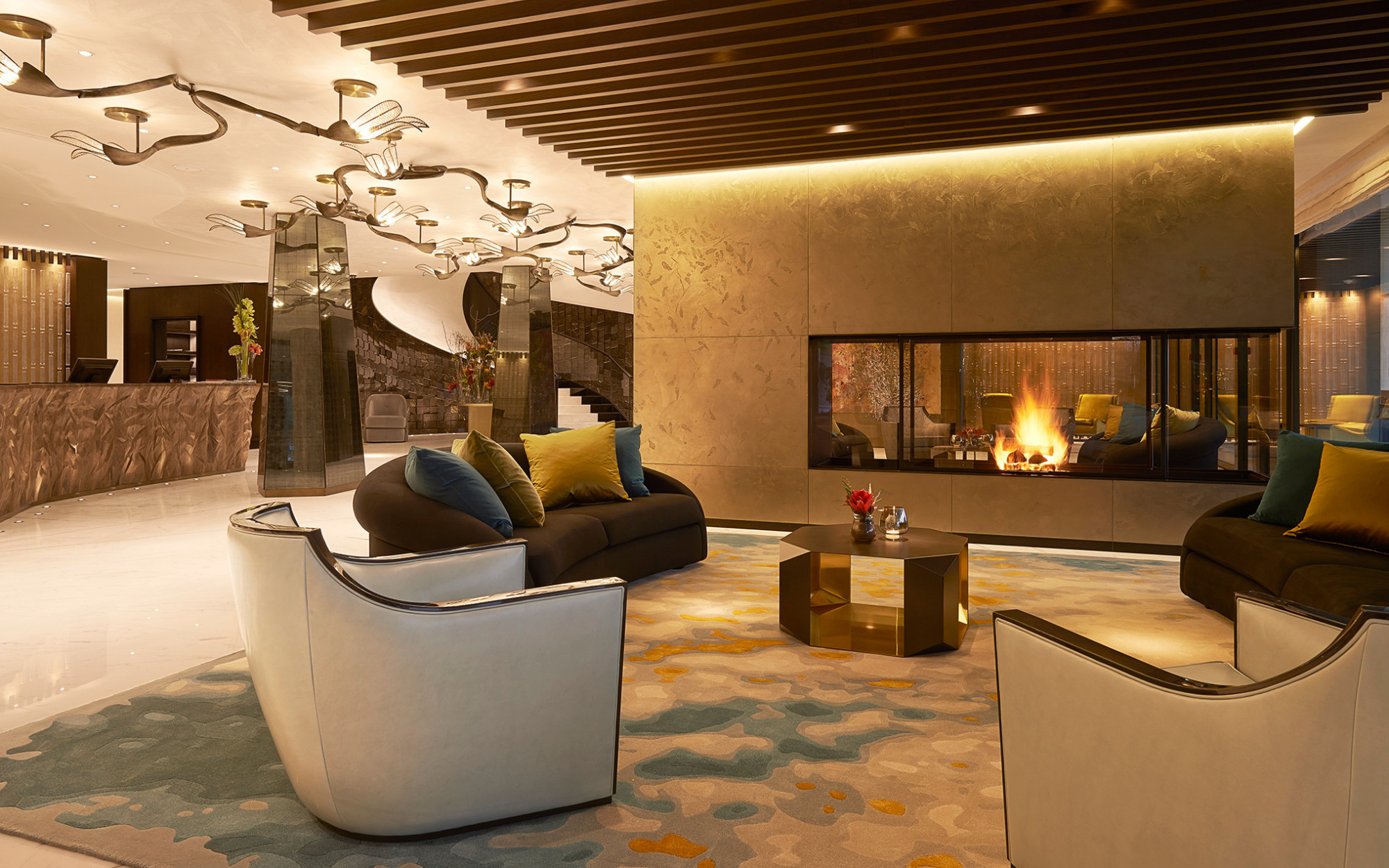 Atlantis by Giardino Lobby Zurich Luxury Hotel Urban