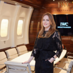 Nel-Olivia Waga Private Jet IWC SIHH 2016 Georges Kern