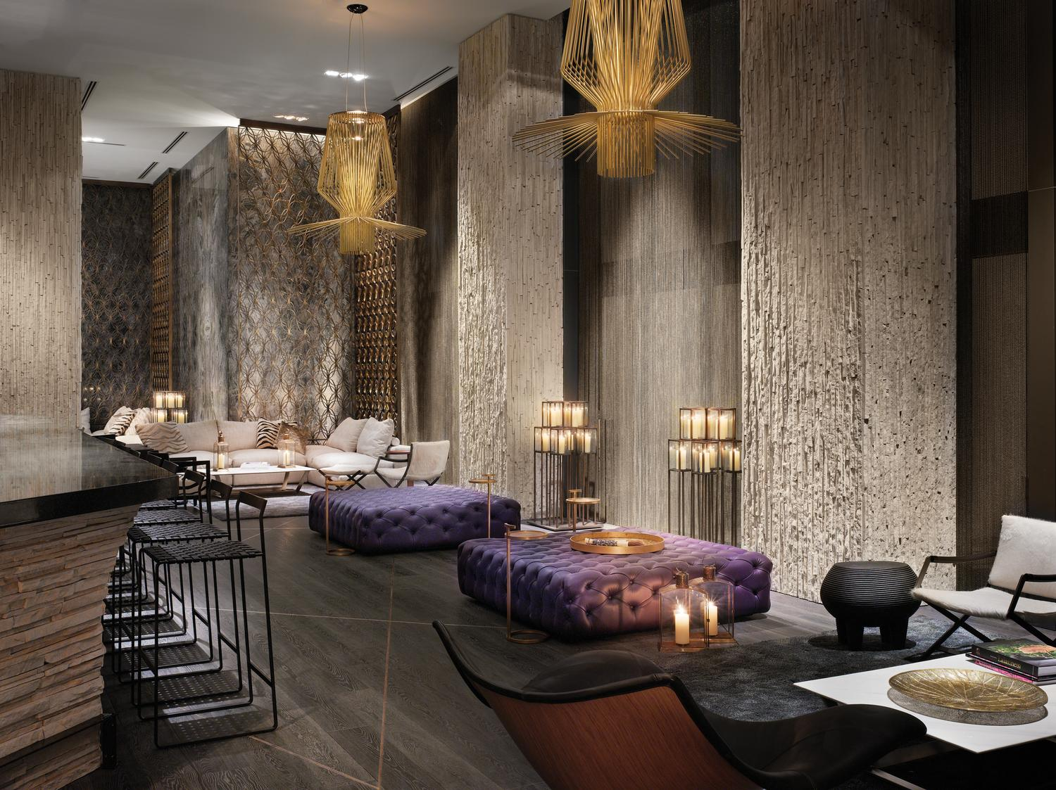 Living Room Bar W Hotel W South Beach Look No Further For Your Miami Getaway Her Etiquette