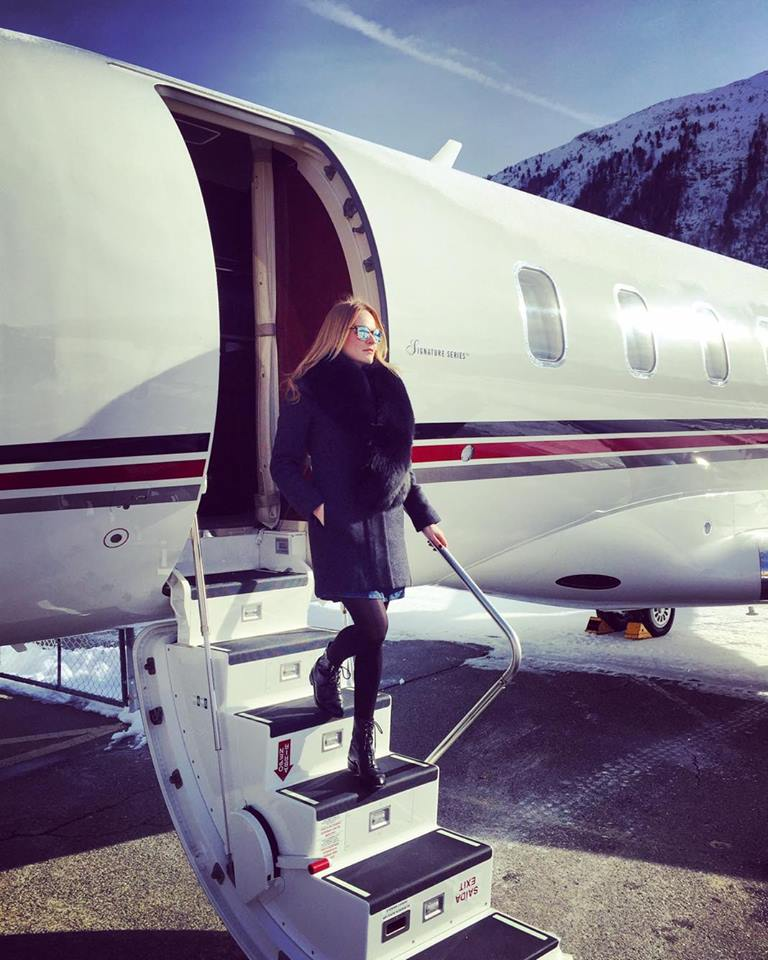 A FLYING LOUNGE – OFF TO ST. MORITZ WITH THE NEW NETJETS CHALLENGER 350