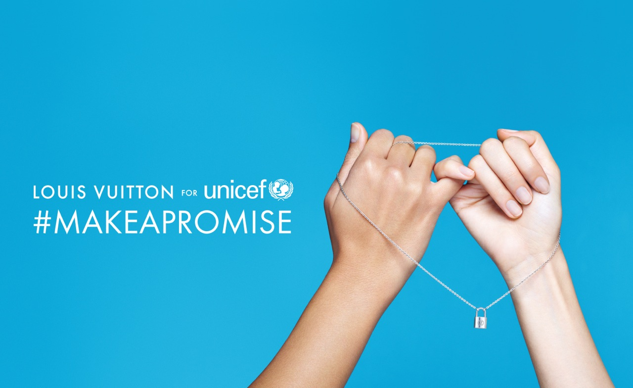 MAKE A PROMISE LOUIS VUITTON UNICEF