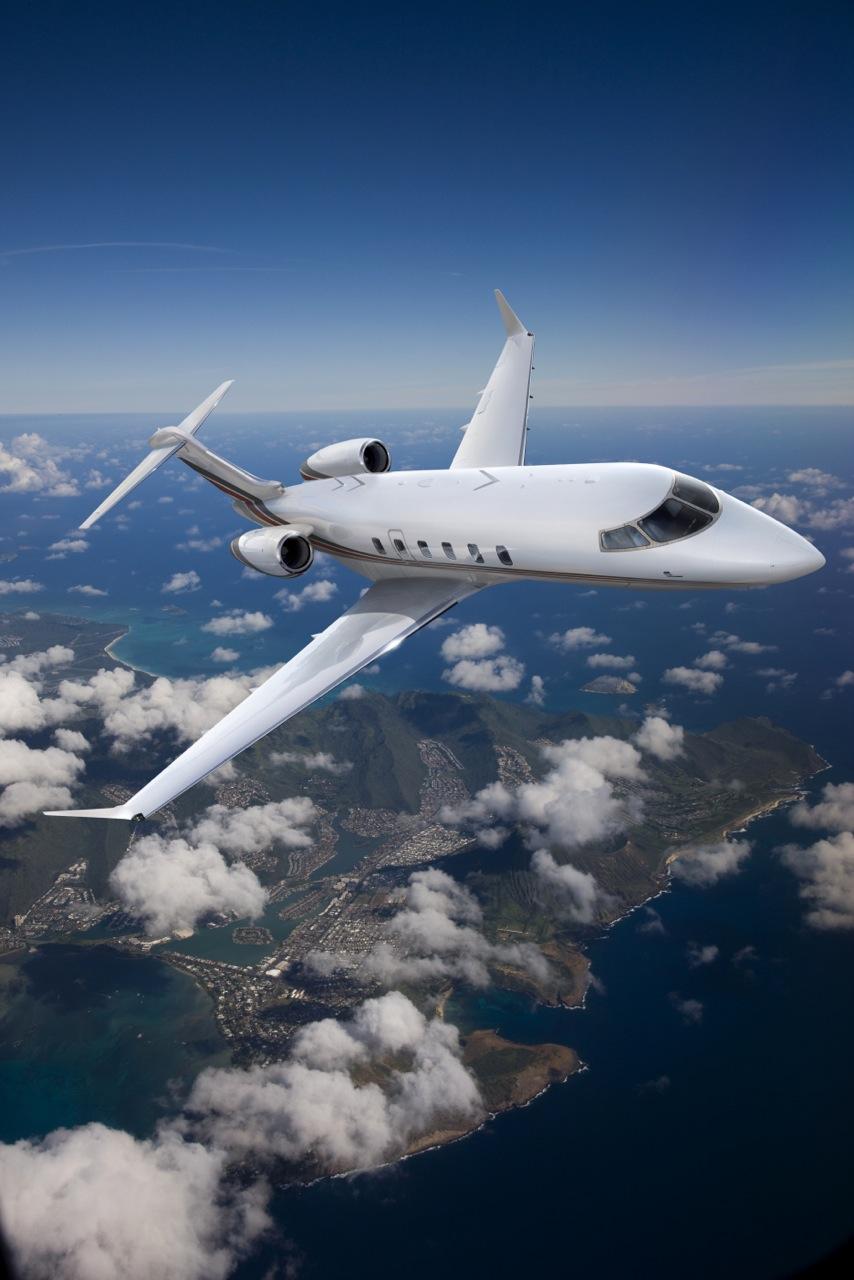 NetJets Challenger 350 in flight_Credit NetJets-1