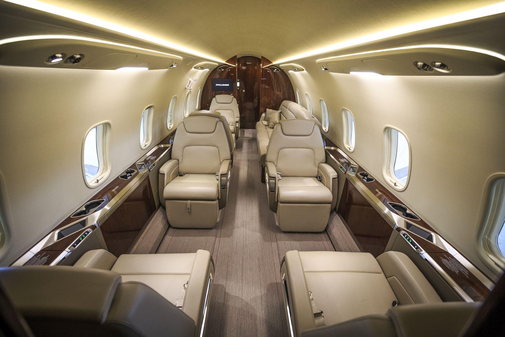 NetJets Europe_Challenger 350 cabin_Credit NetJets (2)