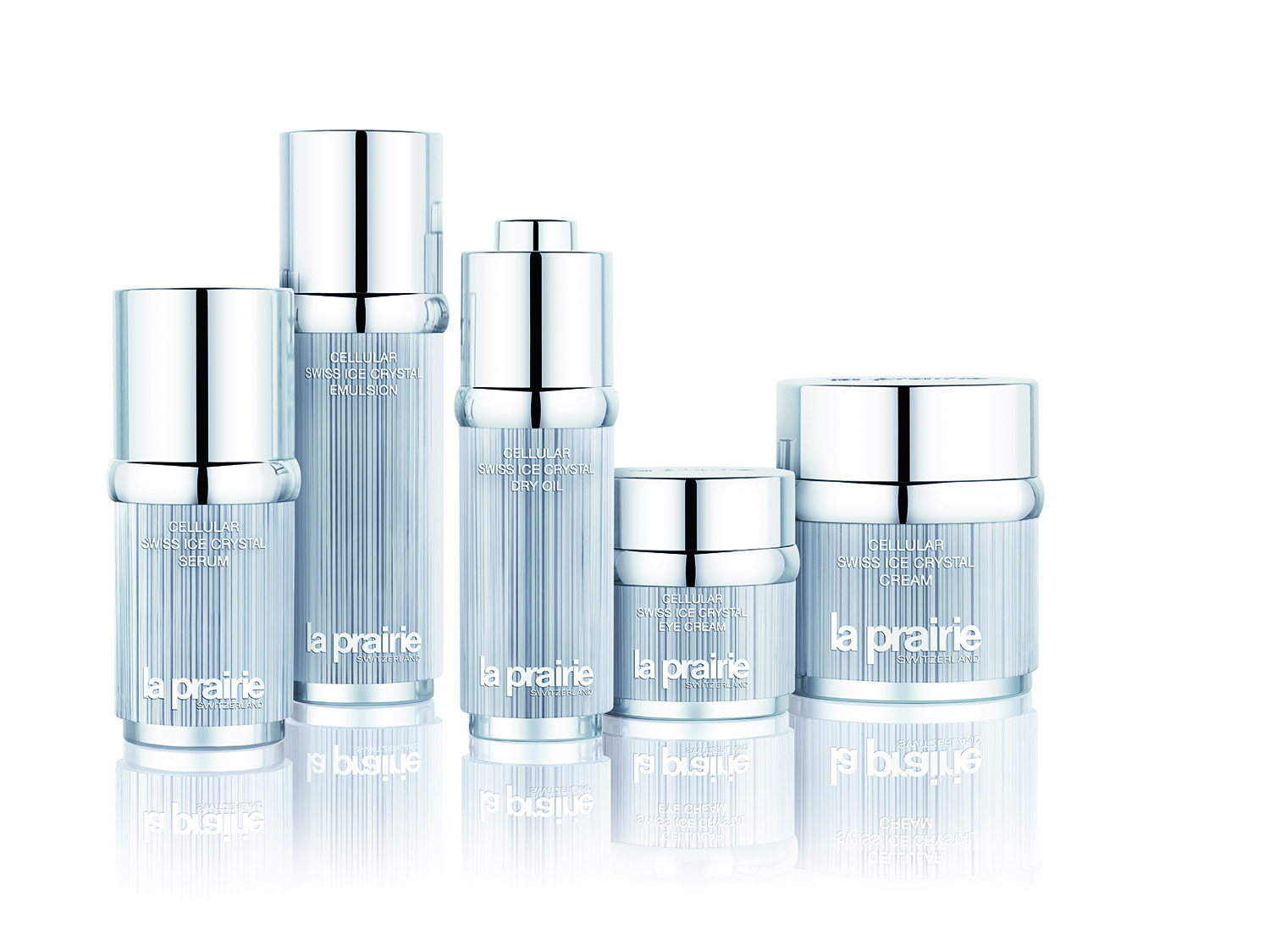 LA PRAIRIE: A NEW LAUNCH WITHIN THE CELLULAR SWISS ICE CRYSTAL COLLECTION