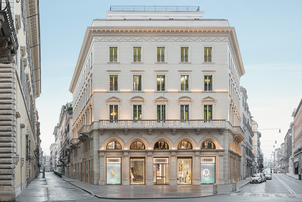 FORBES: Fendi's Personal Vision of Luxury: The Ambitiously Refurbished Palazzo Fendi in Rome