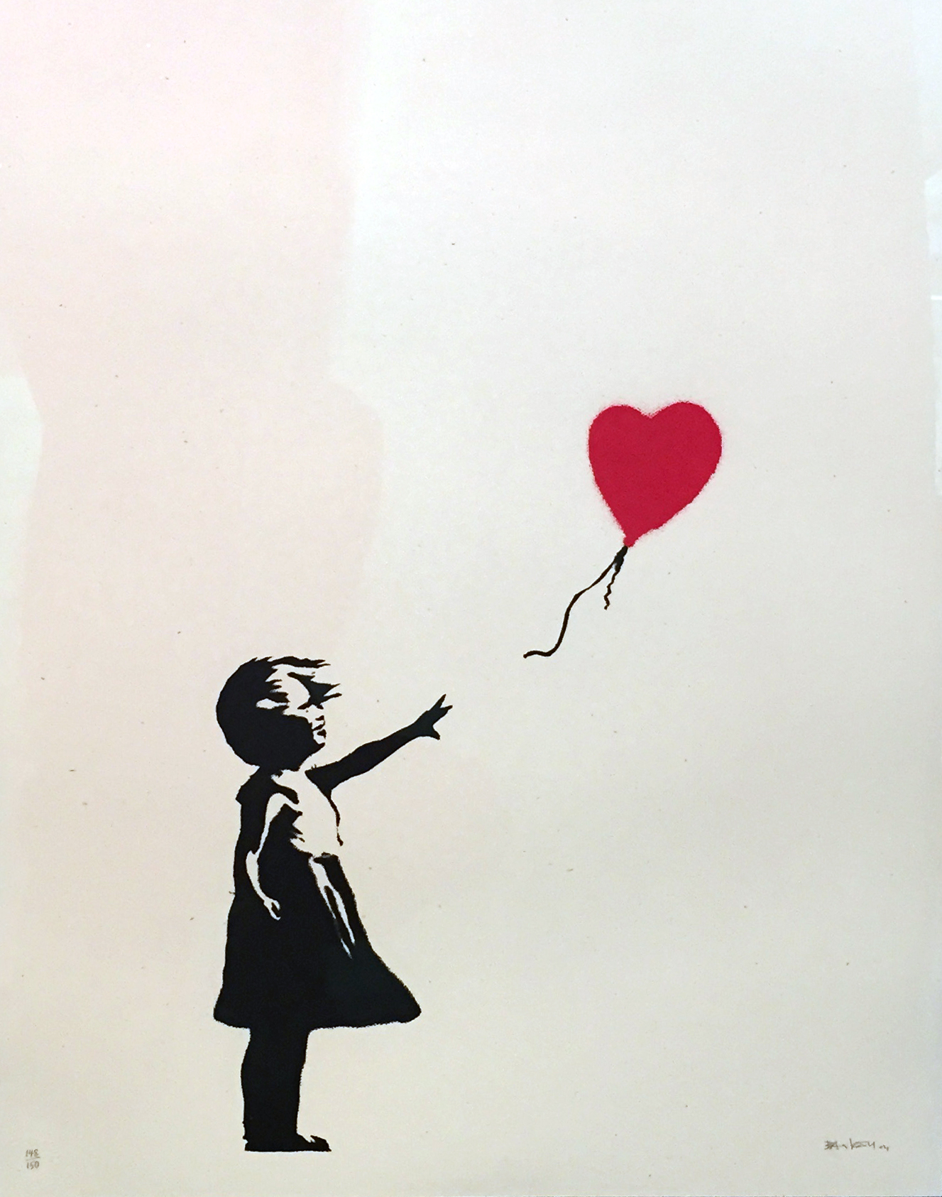 Banksy_Girl with Balloon