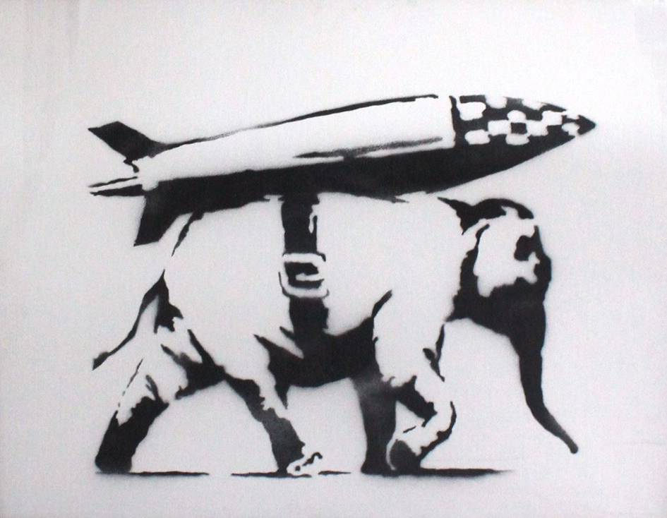Banksy_Heavy Weapon