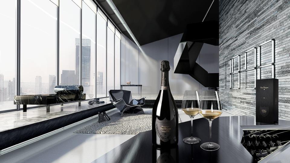 New champagne study