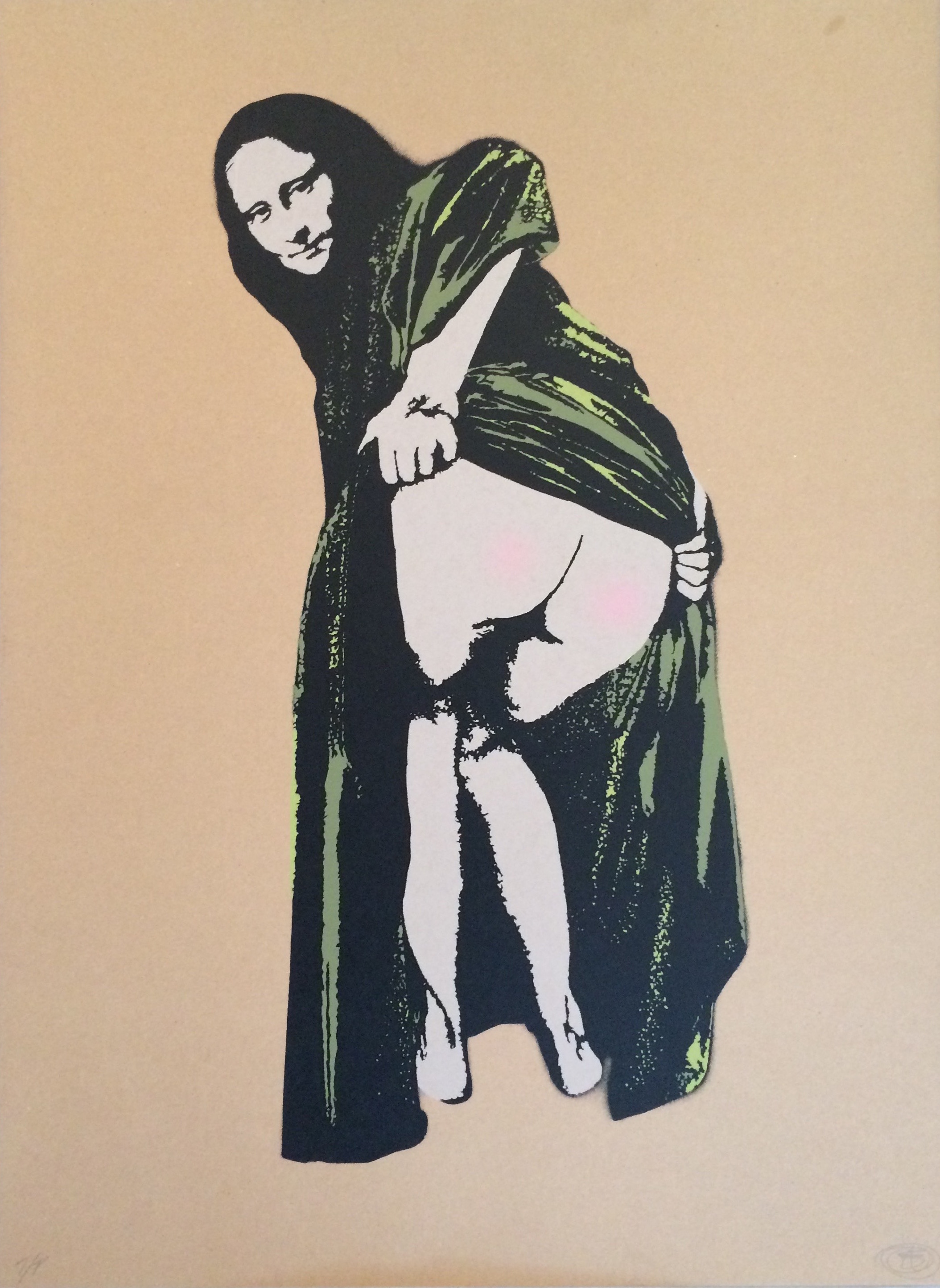 Banksy_Nick Walker_Moona Lisa