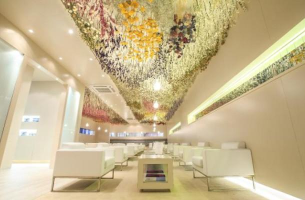 NEtJEts Lounge Art Basel VIP Flowers