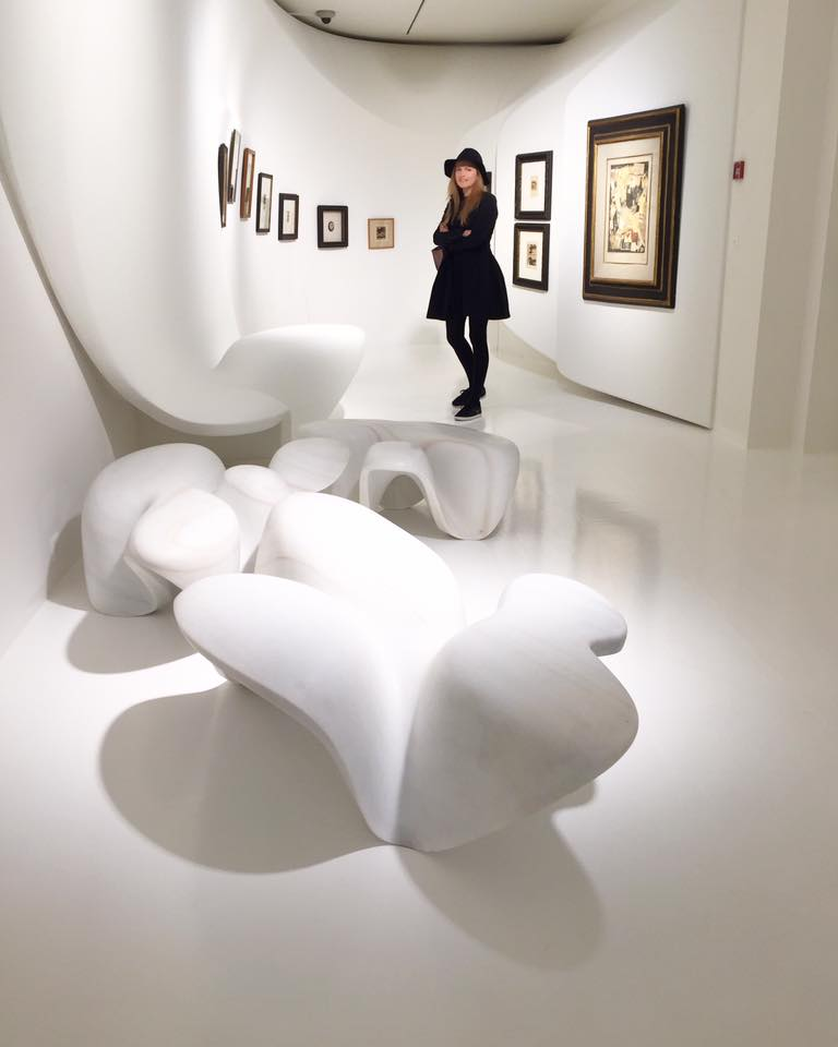 Nel Olivia Waga_Zaha Hadid_Kurt Schwitters_ARt_Galerie Gmurzynska