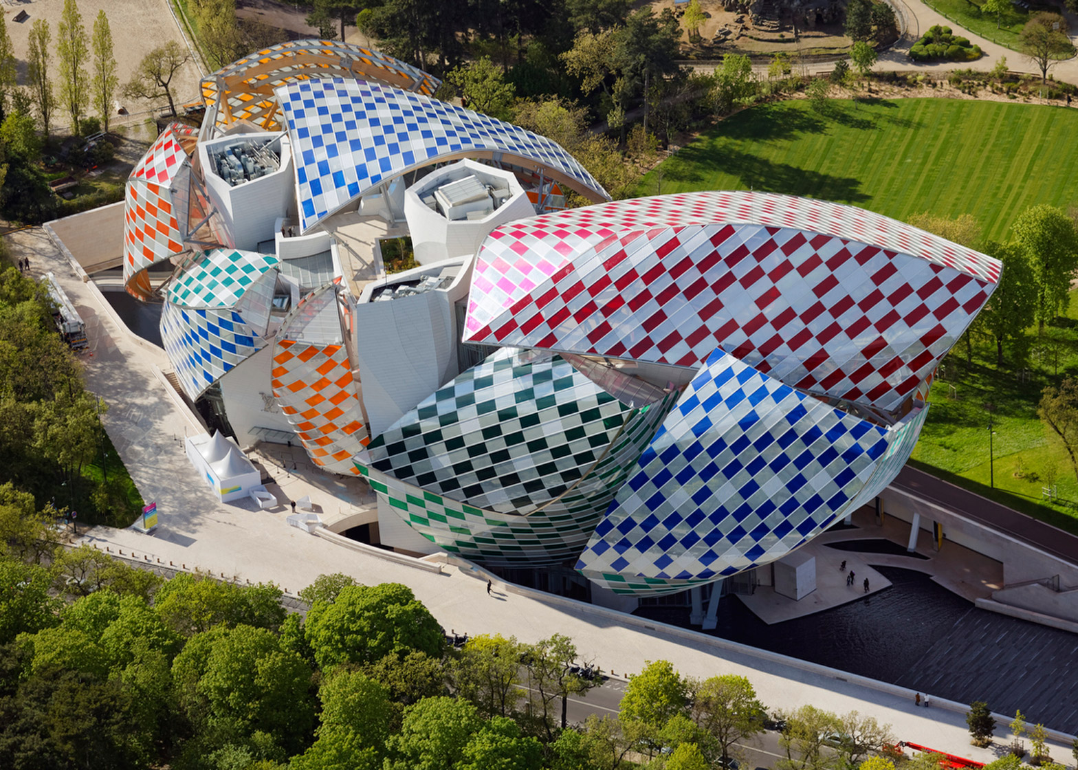 "FORBES: Daniel Buren Transforms the Fondation Louis Vuitton to an ""Observatory of Light"""