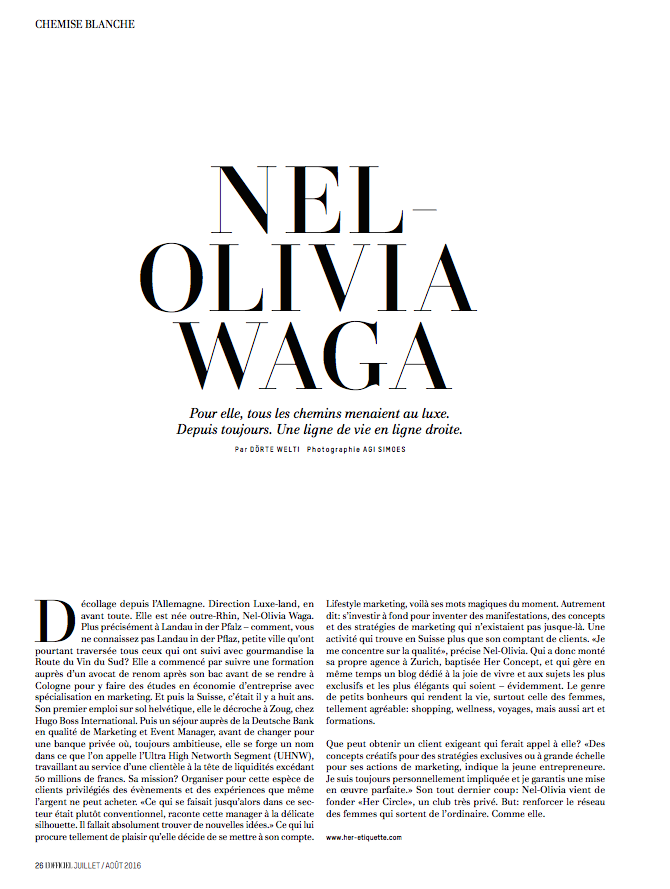 Nel Olivia Waga Loffiiel
