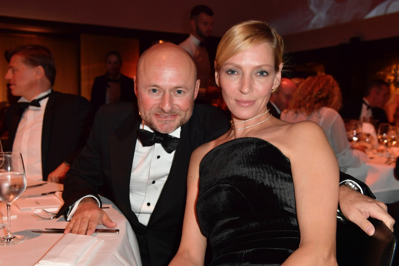 IWC Gala Dinner Zurich Film Festival FOR THE LOVE OF CINEMA Uma Thurman Georges Kern 3