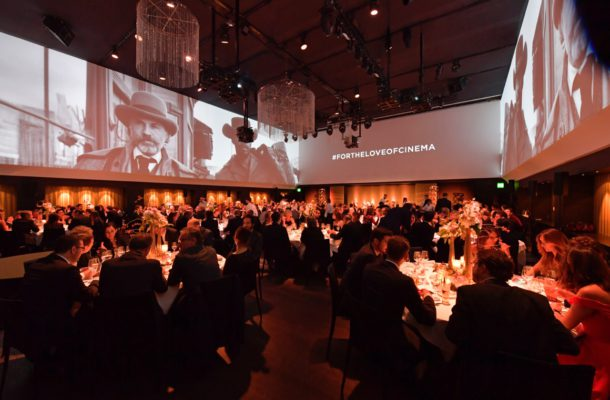 IWC Gala Dinner Zurich Film Festival FOR THE LOVE OF CINEMA Uma Thurman Georges Kern