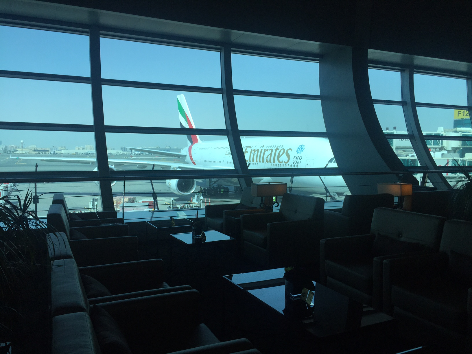 Emirates First Class Lounge Dubai Airport