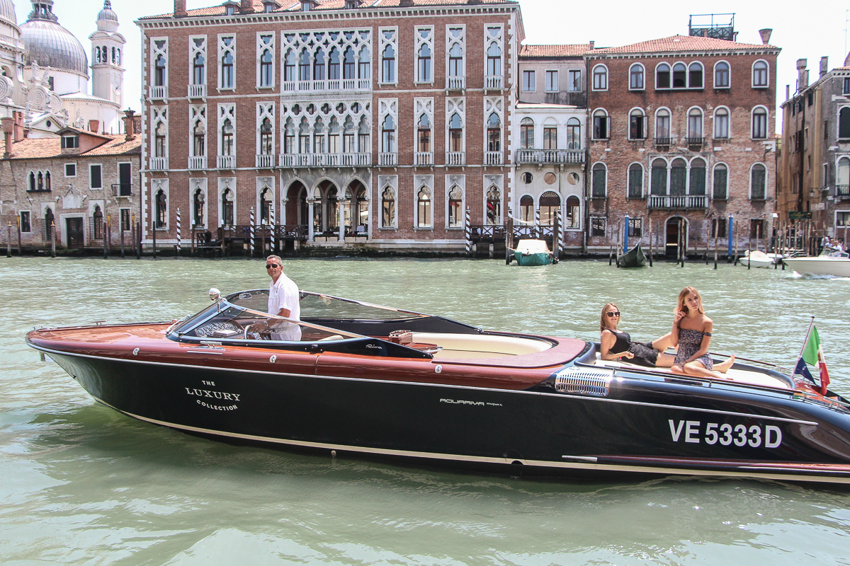 THE RIVA EXPERIENCE WITH THE GRITTI PALACE IN VENICE