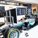 Nel-Olivia Waga F1 Lewis Hamilton IWC Singapore