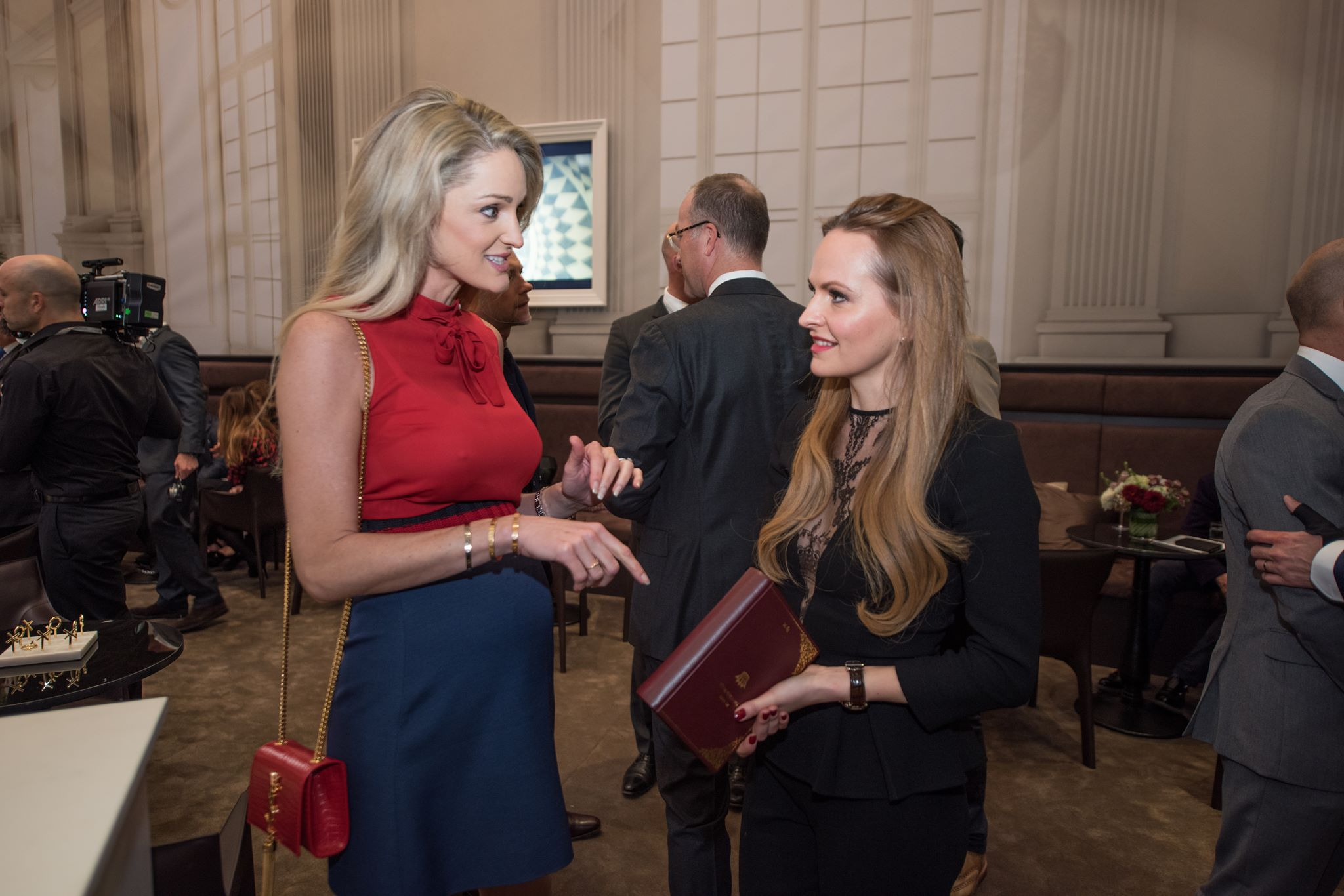 Storm Keating and Nel-Olivia Waga at SIHH 2017 IWC Da Vinci