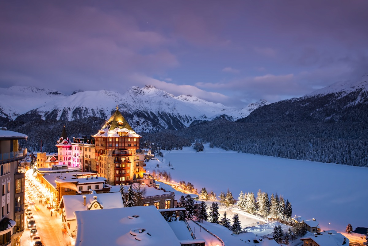 7 DAYS WELLNESS PROGRAM AT BADRUTT's PALACE ST. MORITZ