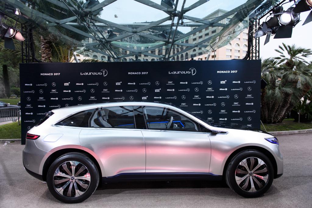 Mercedes Concept EQ ;Mercedes Concept EQ;