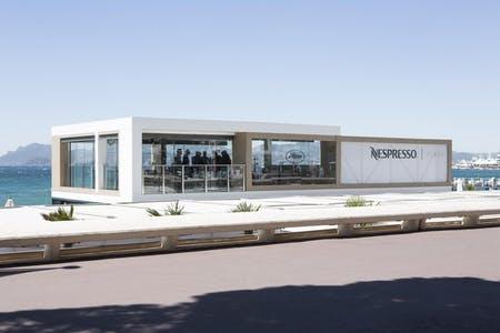 Nespresso Plage at Cannes Film Festival, Credit: Nespresso