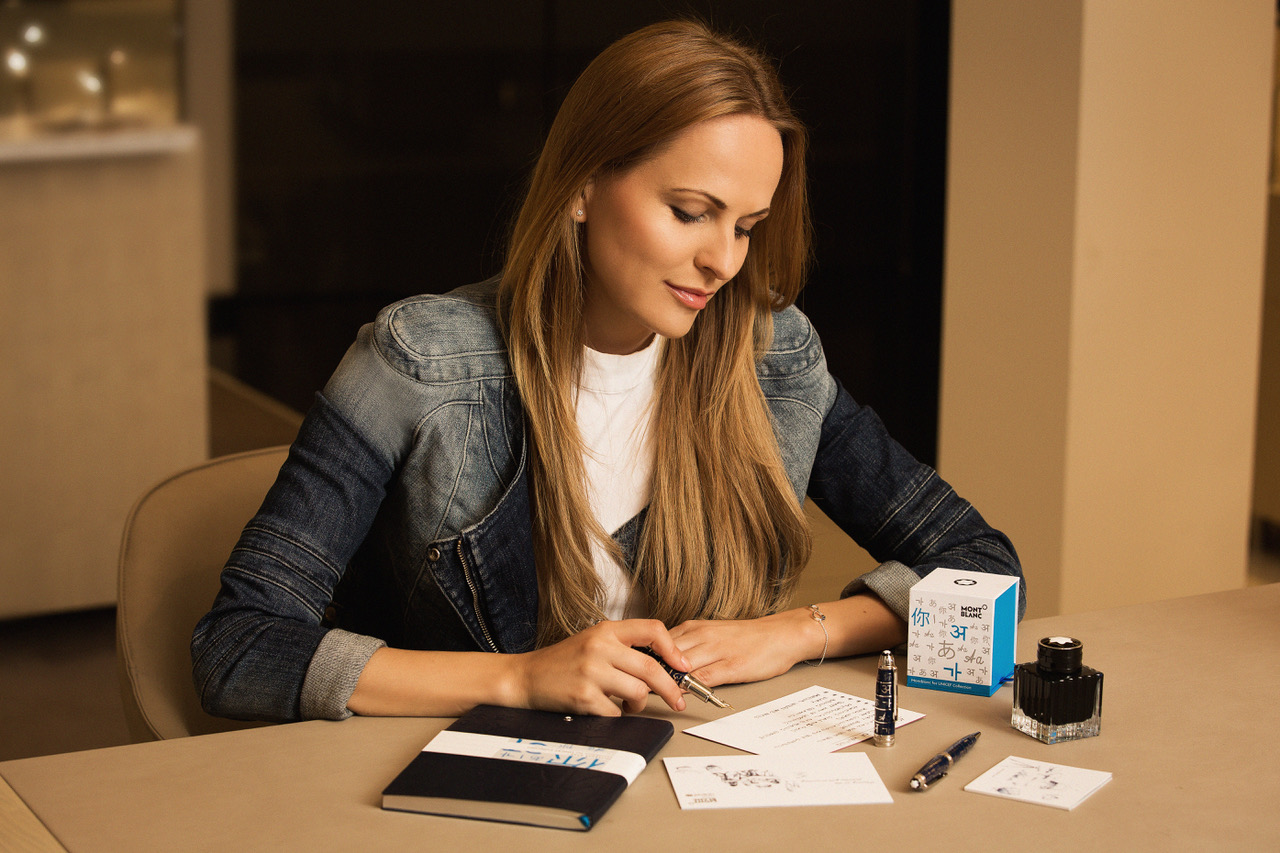 MONTBLANC FOR UNICEF – 10 Benefits of Writing #PassItOn #Montblanc10Notes