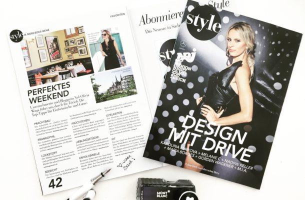 Nel-Olivia Waga im Interview mit Style x Mercedes über ihr perfektes Weekend in Zürich.
