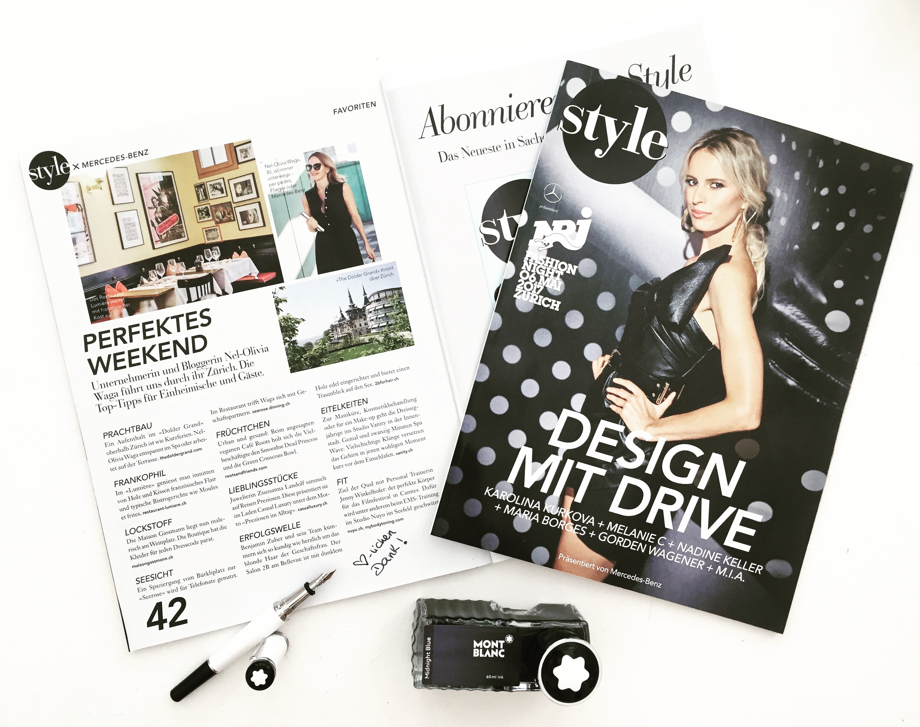 IN THE PRESS: STYLE x MERCEDES Magazin