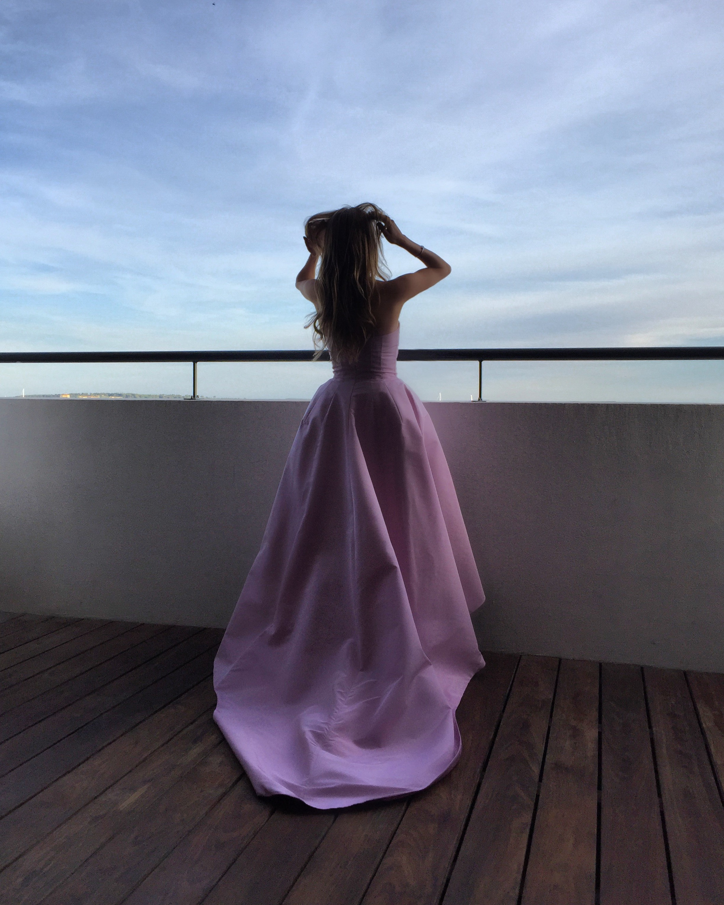 Nel-Olivia Waga at the Dior Suite, Cannes Film Festival 2017