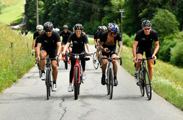 BERN, SWITZERLAND - JUNE 28:  IWC Schaffhausen Fabian Cancellara Spartacus Challenge on June 28, 2017 in Bern, Switzerland.  (Photo by The Image Gate for IWC)
