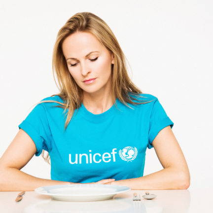 Nel-Olivia Waga for UNICEF - Stop Hunger Campaign 2017