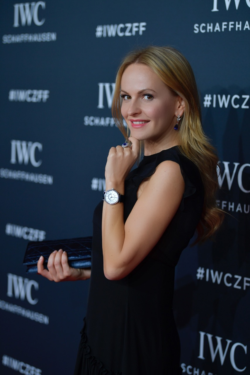 ZURICH, SWITZERLAND - SEPTEMBER 30:  Nel-Olivia Waga attends the IWC 'For the Love of Cinema' Gala Dinner at AURA Zurich on 30 September, 2017 in Zurich, Switzerland. During the event, actor James Marsden presented the third 'Filmmaker Award', a sponsorship worth CHF 100,000. The award was set up by the Association for the Promotion of Film in Switzerland ('Verein zur Filmförderung in der Schweiz').  (Photo by Harold Cunningham/Getty Images for IWC)