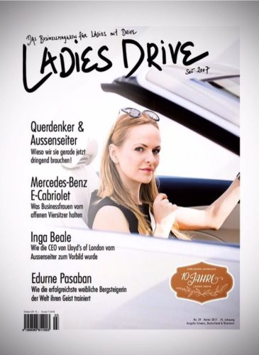 Nel-Olivia Waga Ladies Drive Mercedes